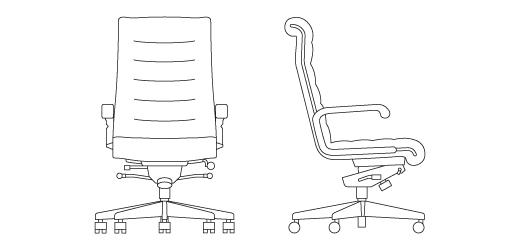 Surprising Ping Desk Chair Cad Block Creativecarmelina Interior Chair Design Creativecarmelinacom