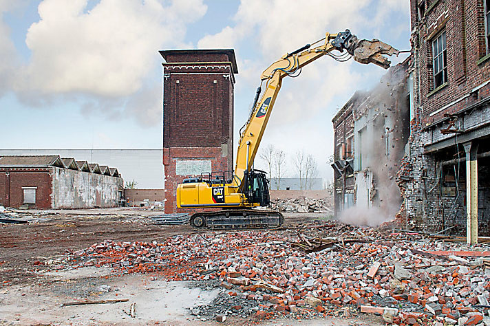 Cat, Hydraulic Excavator with Straight Boom - 336F L - LAING