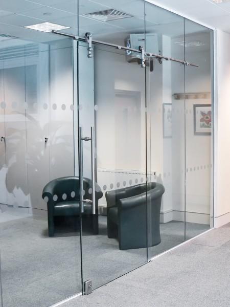Frameless Sliding Rail Glass Doors Couva Glass Company Ltd In