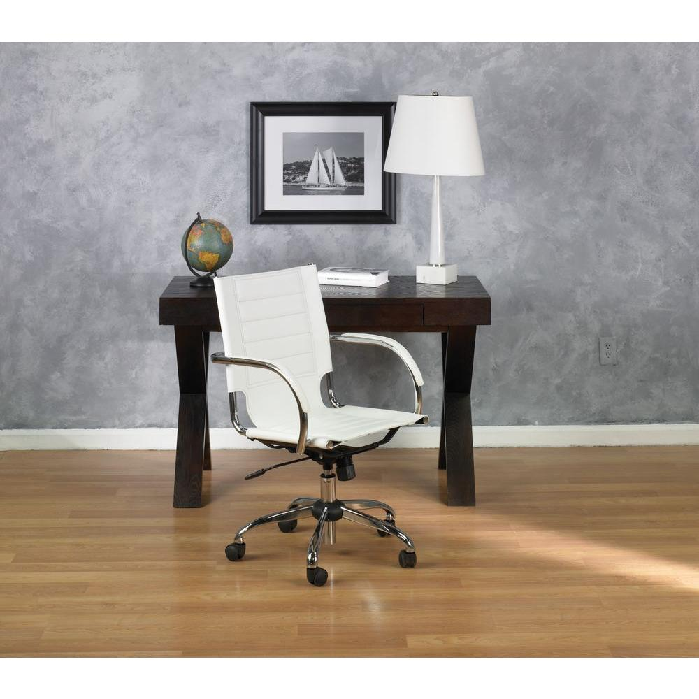 Office Star Ave Six Trinidad Red Vinyl Chair Tnd941a Rd