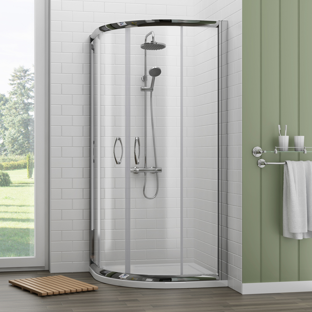 Quadrant Door Glass Shower Enclosures