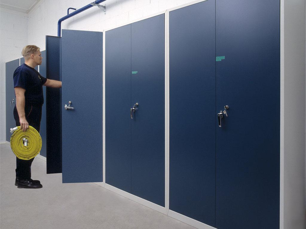 Dexion Lockable Storage Cabinets