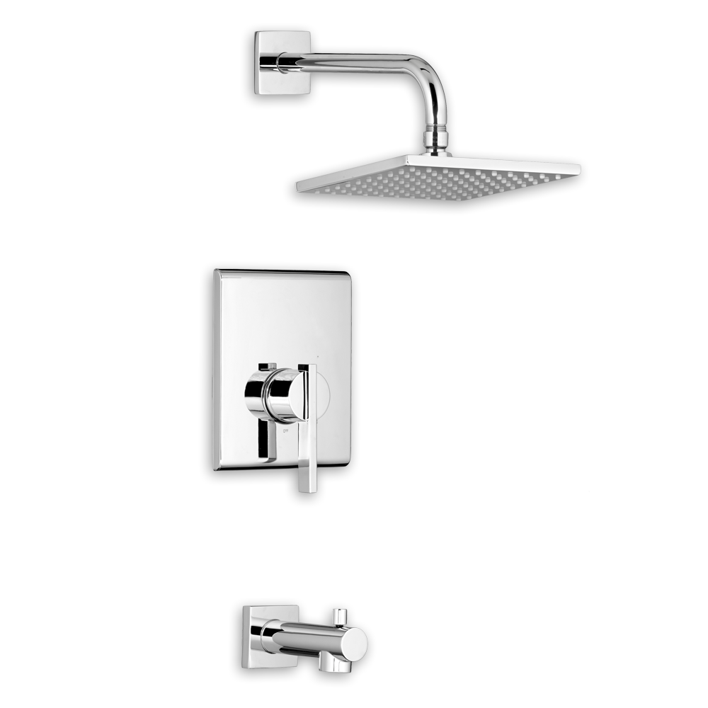 American Standard Times Square Bathroom Shower Trim Kit - T184.500 ...