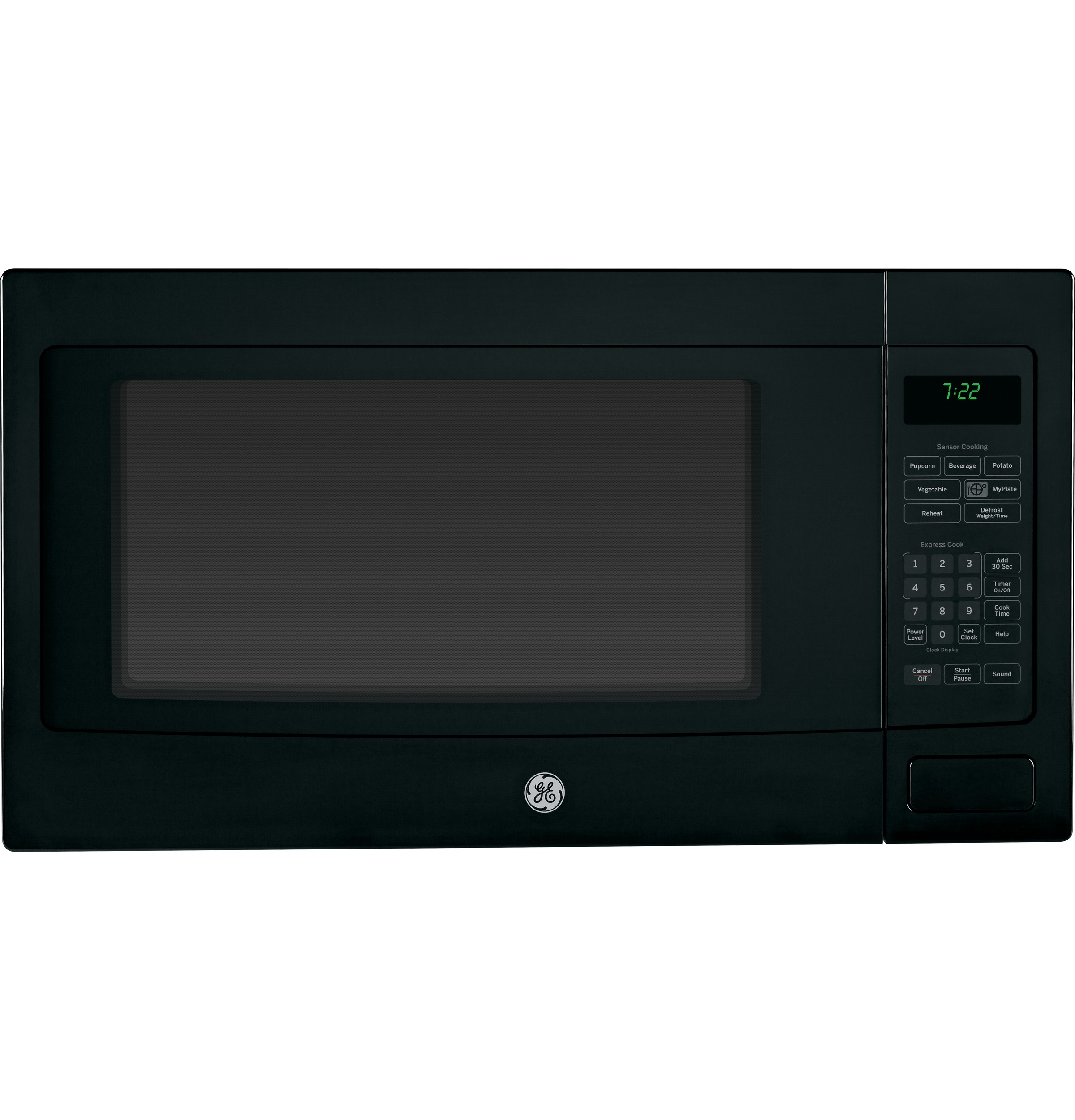 GE Profile Series - 2.2Cu.Ft. Countertop Microwave Oven - PEB7226DFBB ...