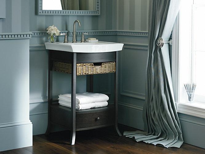 Kohler Bathroom Vanity Toilet Set Bancroft Series Petite Bathroom Vanity Cabinet Comfort