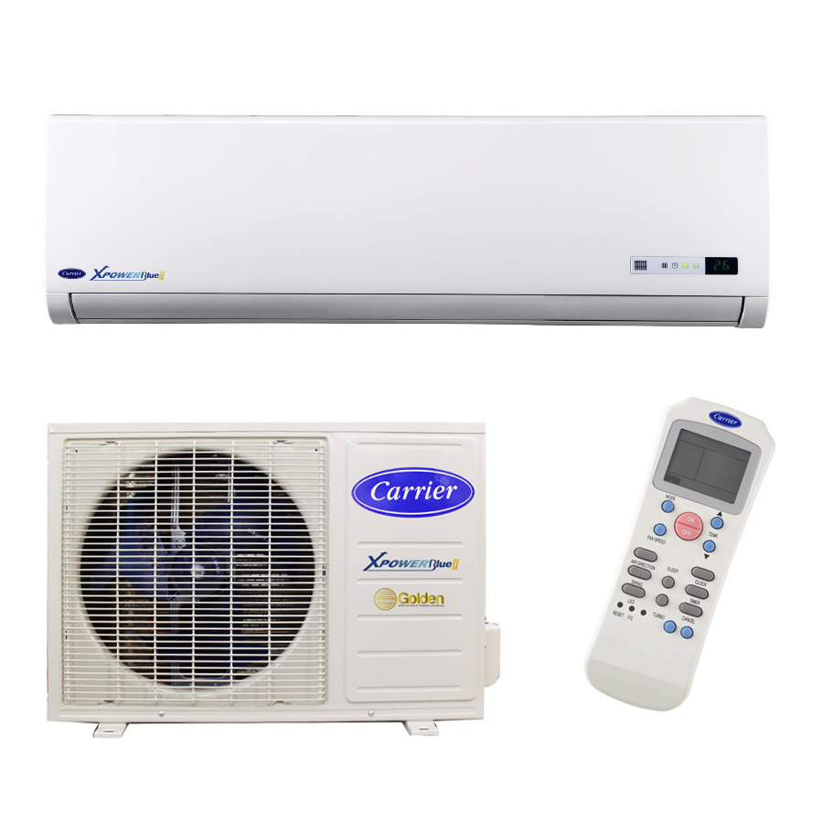 Carrier, Xpower Blue Series Hi-Wall Inverter Mini-Split Air Conditioning  Units - 12,000BTU, 18,000BTU and 24,000BTU