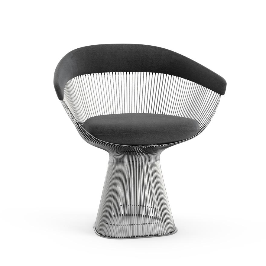 GroB Knoll Furniture   Platner Arm Chair