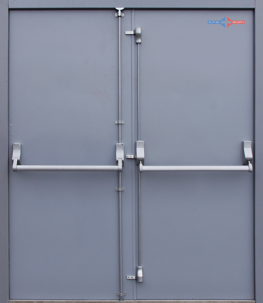 Emergency Exit Steel Doors with Panic Button 2 & Emergency Exit Steel Doors with Panic Button 2 - LAMCO Industries ...