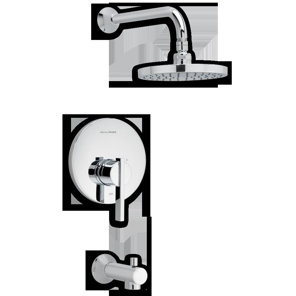 American Standard Berwick Bathroom Shower Trim Kit - T403.502 - Bath ...