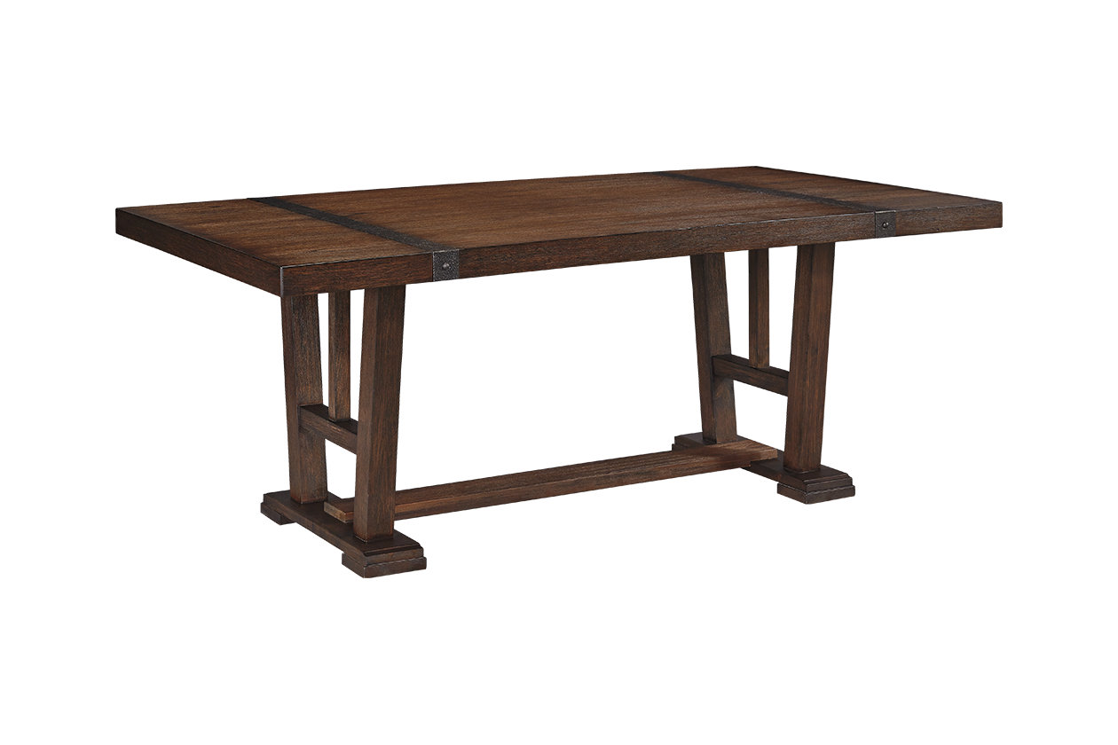 Ashley Furniture Zenfield Dining Room Table Medium Brown
