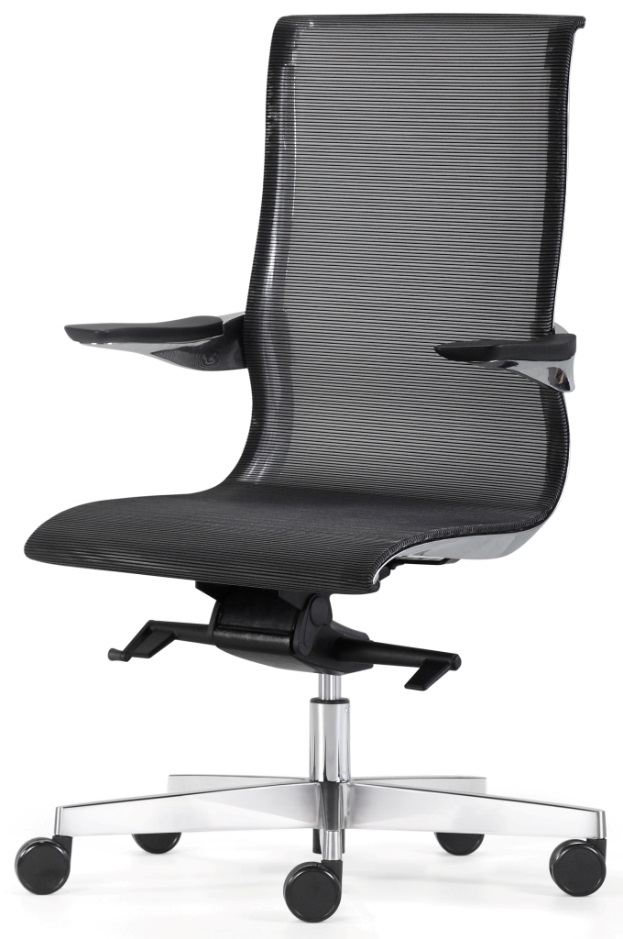 Porsche Executive High Back Mesh Office Chair  sc 1 st  The Building Source Trinidad and Tobago & Porsche Executive High Back Mesh Office Chair - Silverline Systems ...