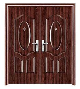 double entry security steel door s6032 unique