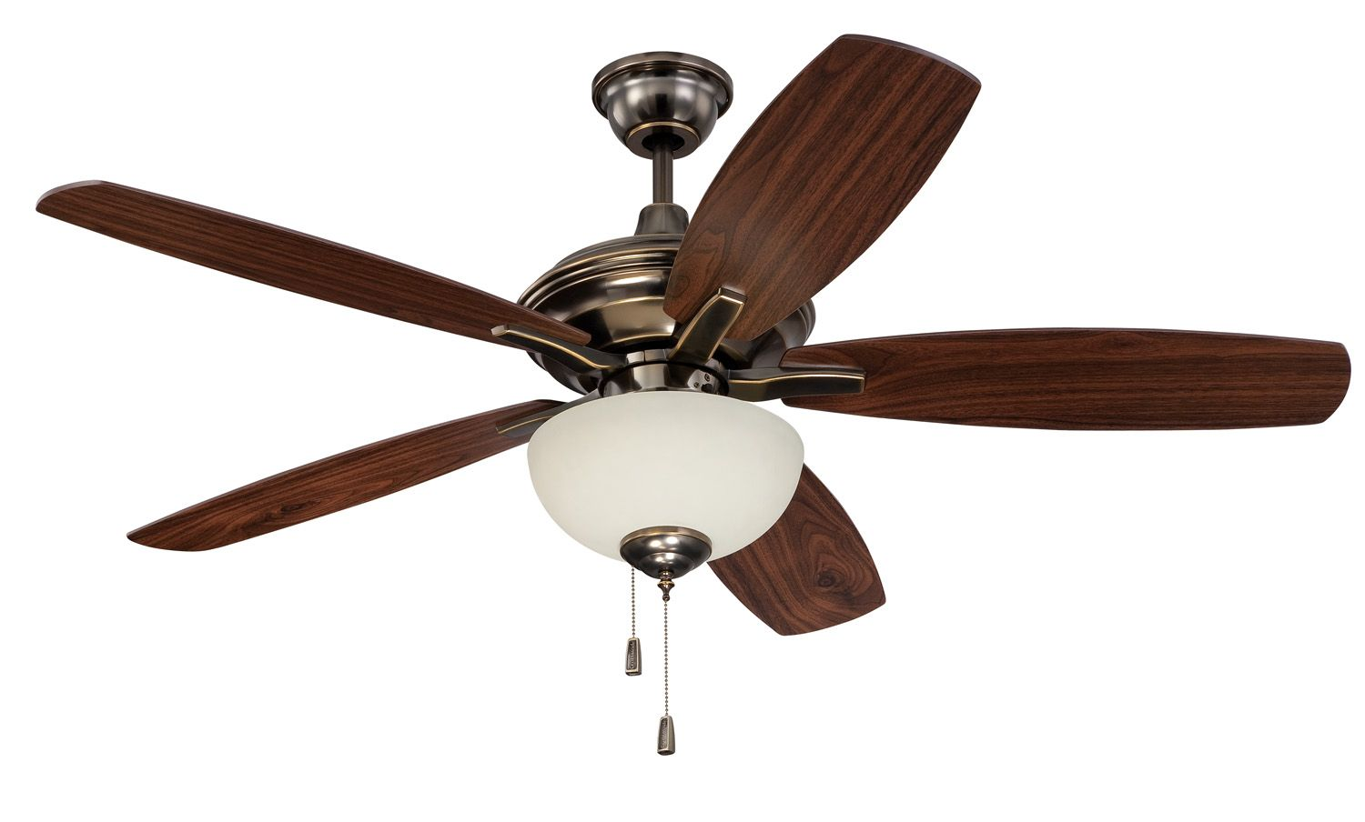 Craftmade copeland 52 ceiling fan with blades and light cn52lb5 craftmade copeland 52 ceiling fan with blades and light cn52lb5 aloadofball Image collections
