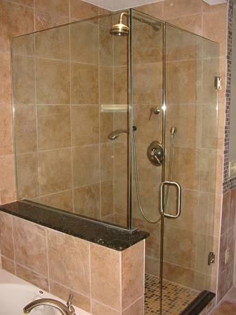 Frameless Glass Shower Enclosure - Aluminium Deco & Glass Ltd. in ...
