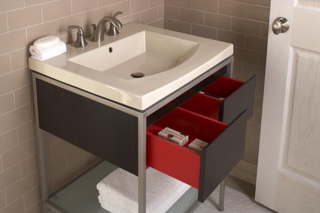 Bathroom Vanity/Toilet Set, Persuade Series
