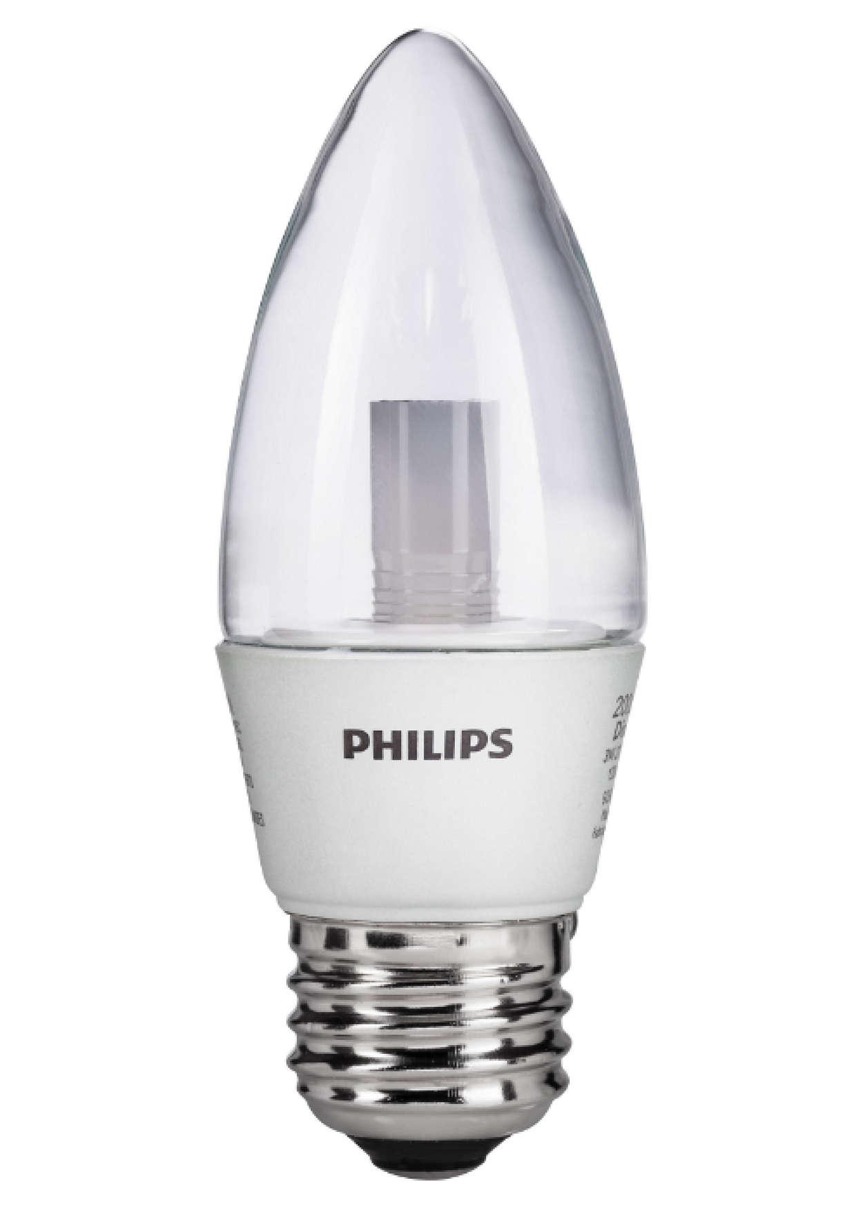 Philips, Blunt Tip Decorative Candle LED Bulb - 046677421021 - Nova ...