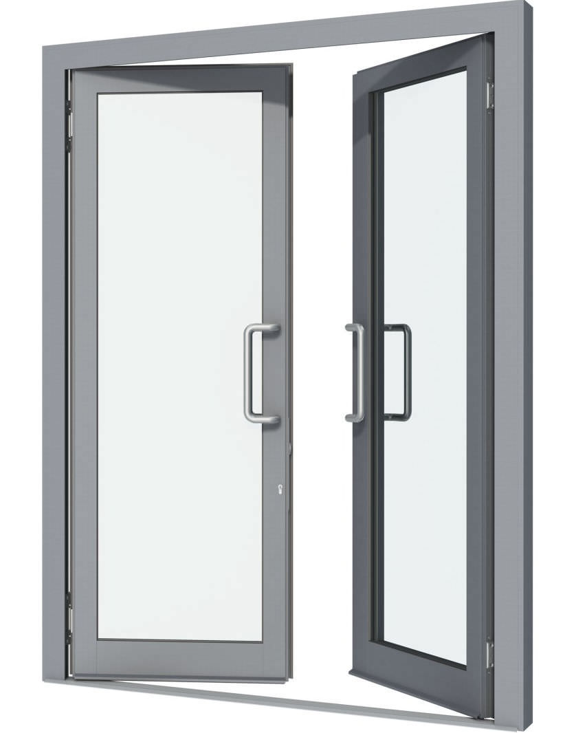 Solid Extruded Aluminum Doors  sc 1 st  The Building Source Trinidad and Tobago & Solid Extruded Aluminum Doors - Kamri Glass and Windows in Trinidad ...