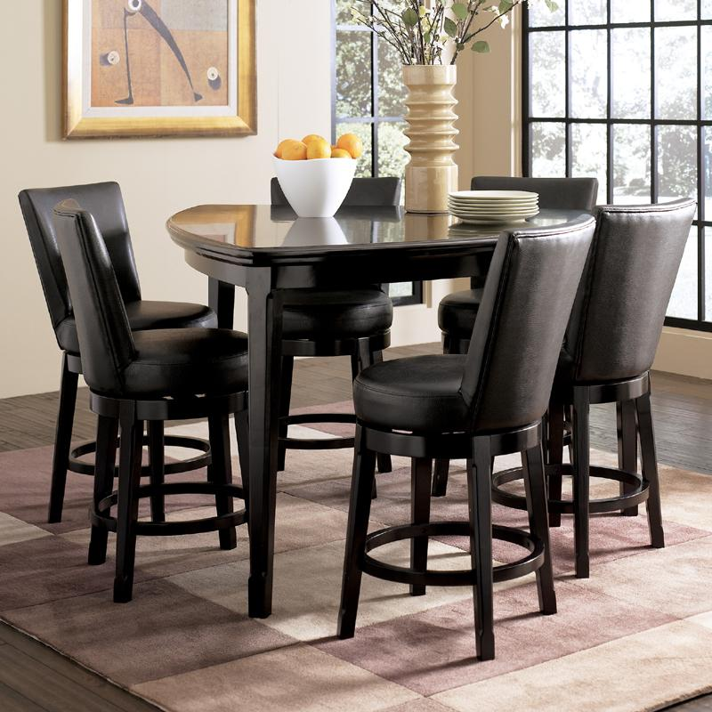 Emory Counter Height Dining Room Set With Triangular Table