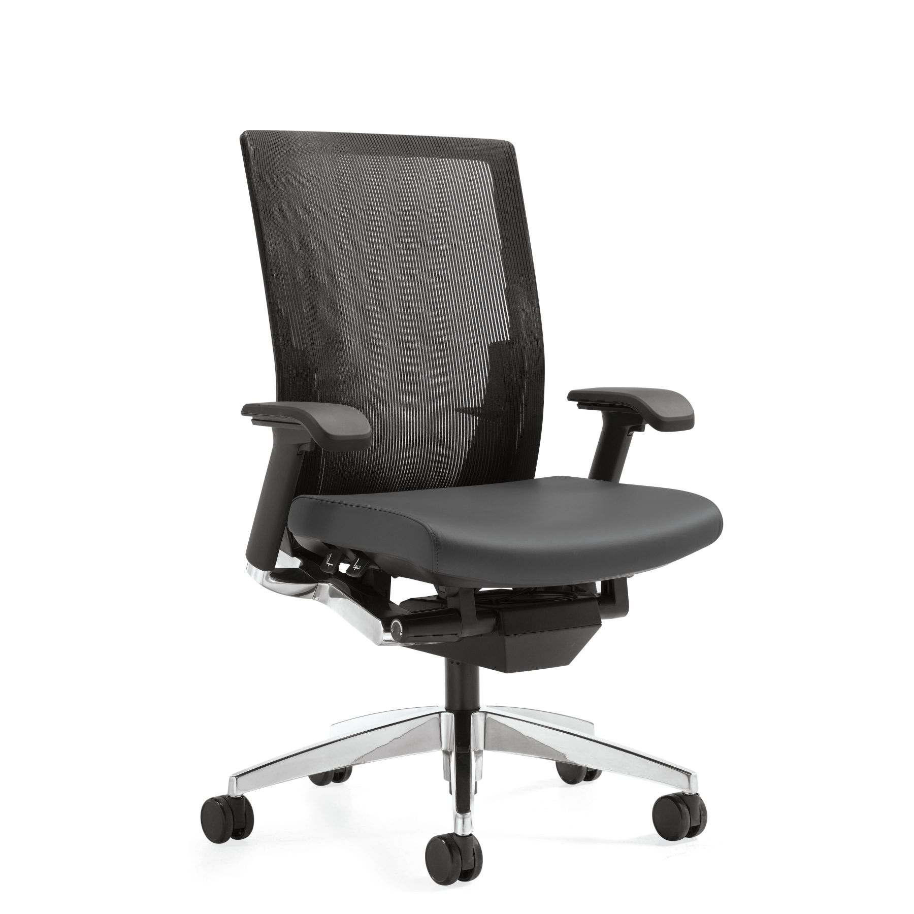 Office Chair Companies: Global Furniture, G20™ High Back Syncro-Tilter Mesh Office