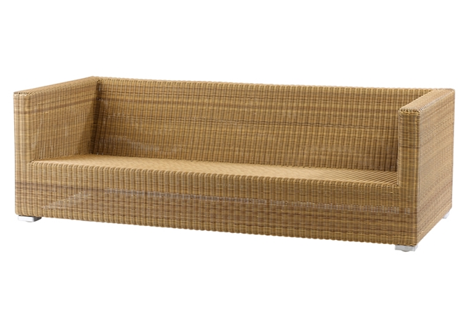 Cane Line Furniture Chester Series Outdoor 3 Seater Lounge Sofa