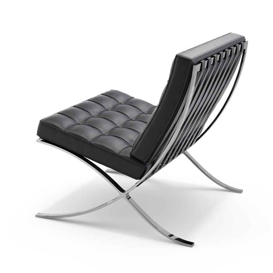 knoll furniture barcelona chair boss in trinidad the building