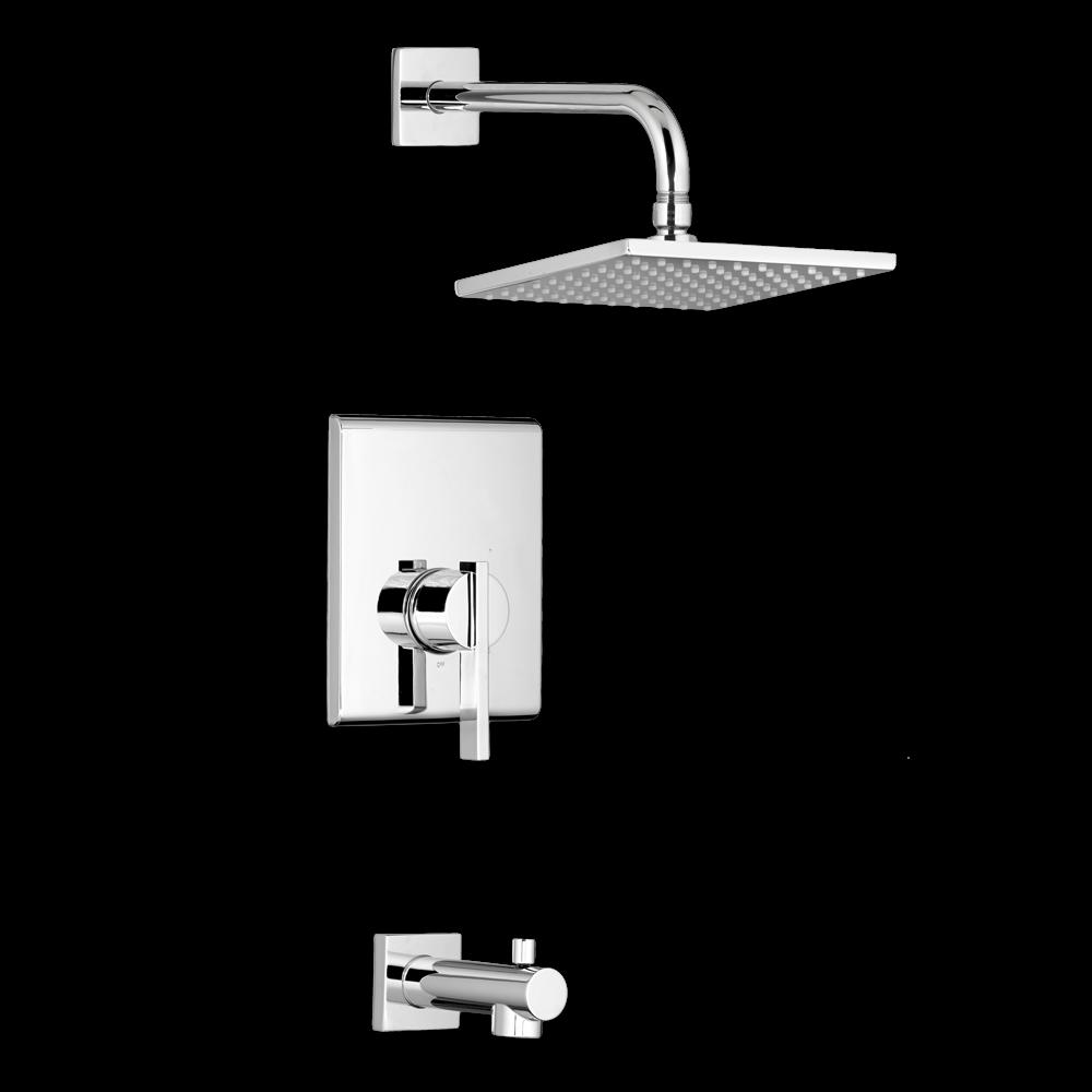 American Standard Times Square Bathroom Shower Trim Kit - T184.500 ...