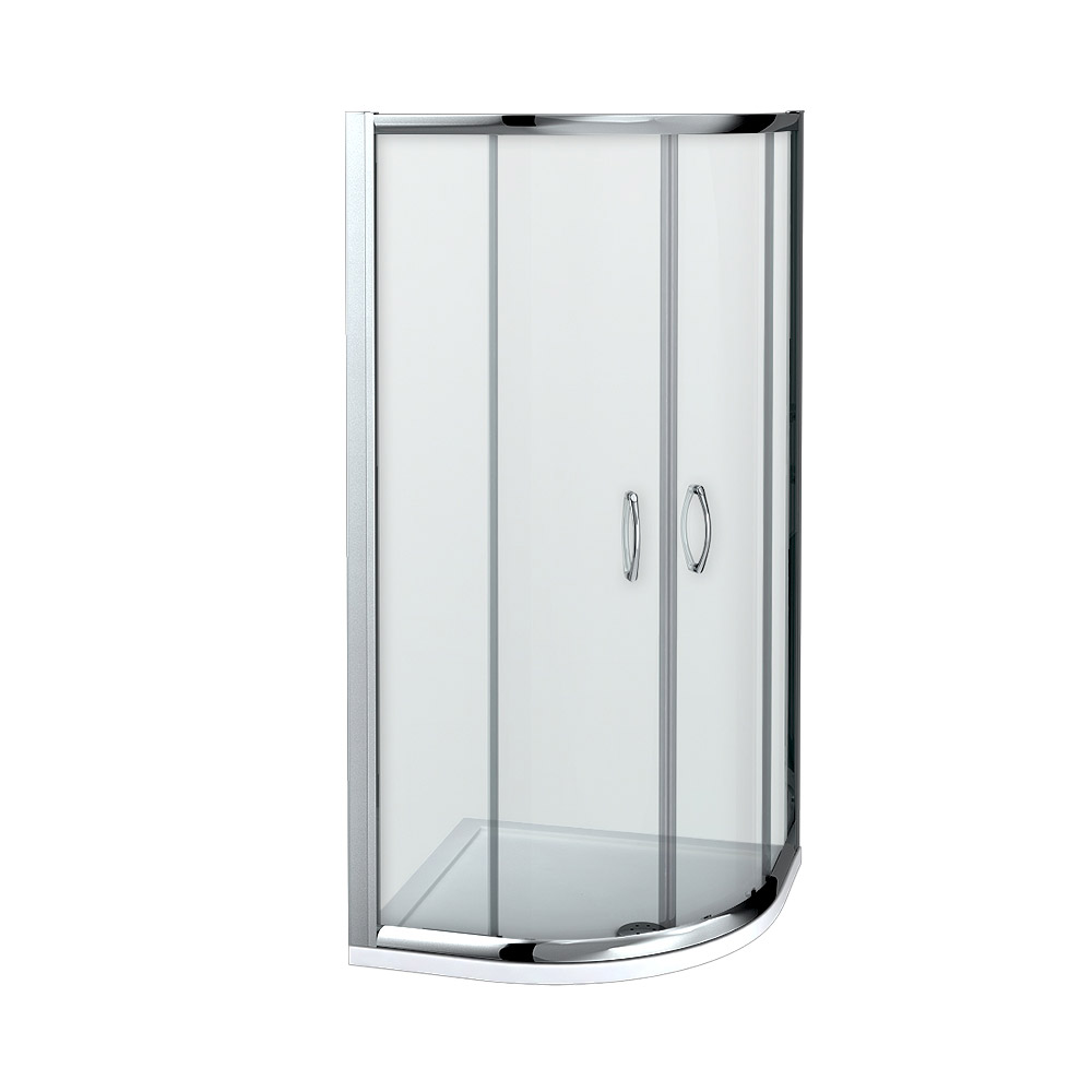 Quadrant Door Glass Shower Enclosures - Glass and Metal Designs Ltd ...
