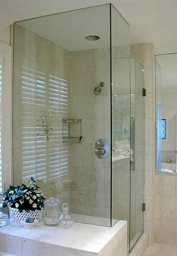 Frameless Glass Shower Enclosure 1 Aluminium Deco Glass Ltd In