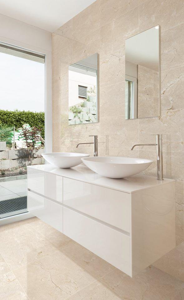Crema Marfil Bathroom Wall Tiles Cp S Plumbing And Hardware Ltd
