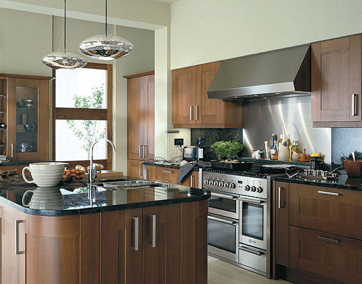 Kitchen cabinetry design estro walnut the italian for Kitchen designs trinidad