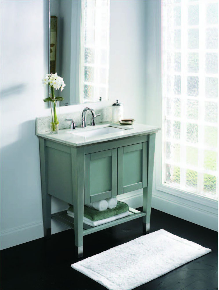 Decolav Briana 30 Bathroom Vanity Project 5264 Slt Bath And Kitchen Design Centre In