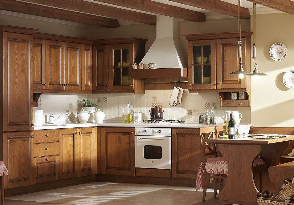 Readymade Imported Wooden Kitchen Cabinets Project American