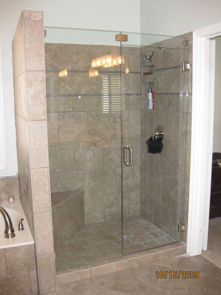 Frame Less Glass Shower Enclosure Project 1 Delta Windows Doors Ltd