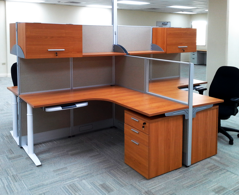 office cubicle supplies. 4-Seater Cubicle Office Workstation Project Supplies B