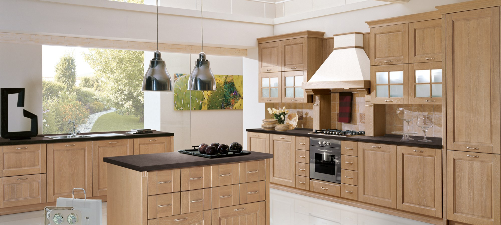 Stosa Cucine Contemporary Kitchen Cabinetry - Ontario Collection ...