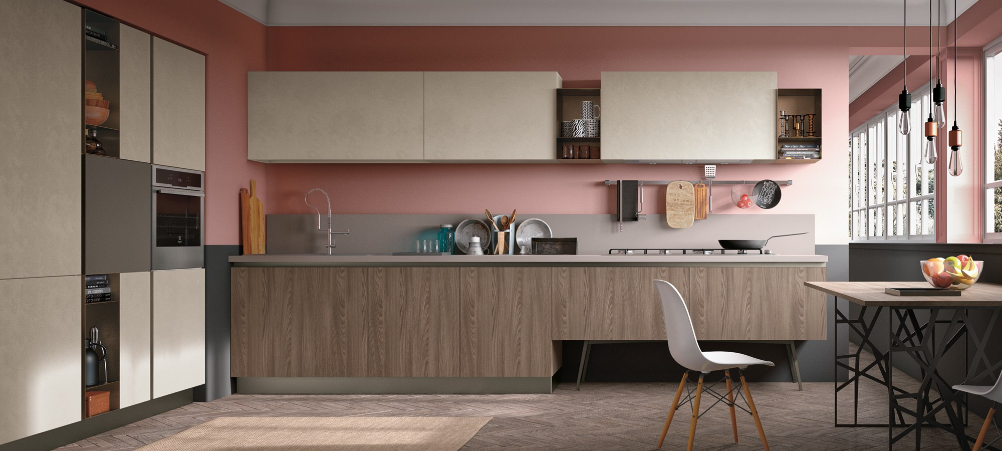 Stosa Cucine Modern Kitchen Cabinetry - Infinity Collection - V.K. ...