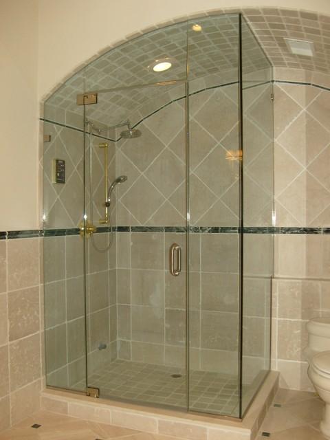 Frame Less Glass Shower Enclosure Project 4 Delta