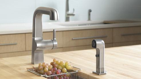 Kohler   Evoke Bar Sink Kitchen Faucet
