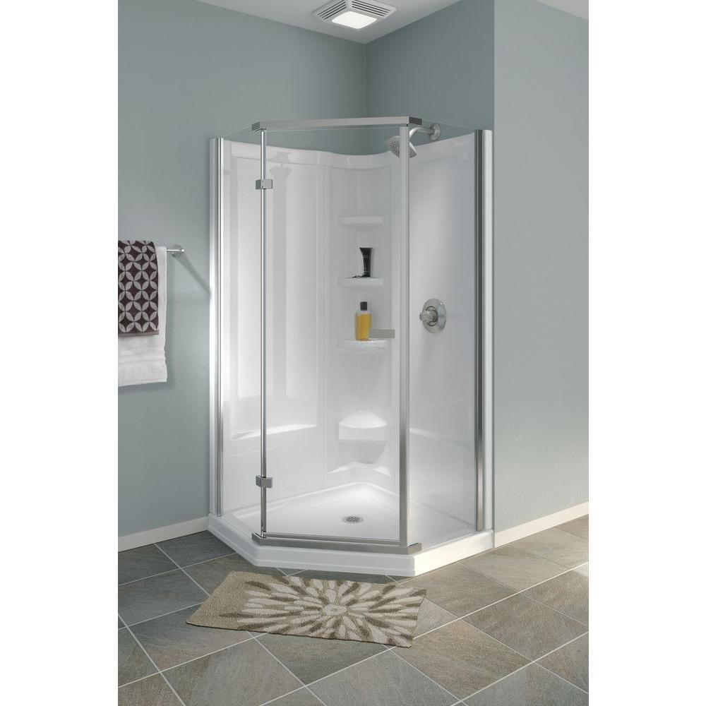 Semi Frameless Neo Angle Gl Shower Enclosures Suknanan S And Aluminum Supplies Ltd In Trinidad The Building Source